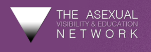 On a purple background, the AVEN triangle sits on the left with the words